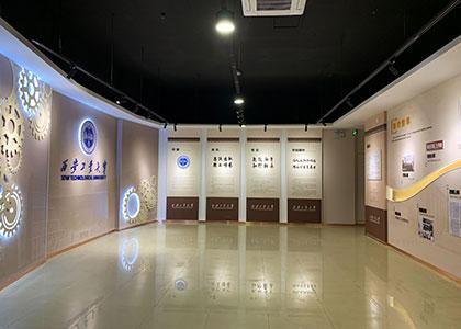 春华秋实 精工博艺丨西安工业大学西安校史馆设计升级焕新颜