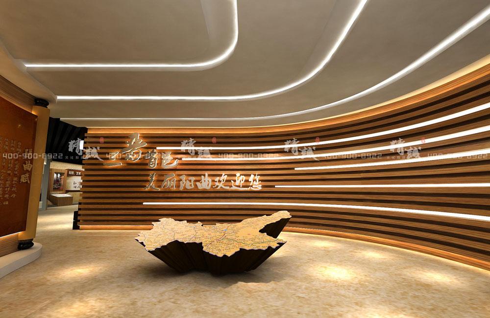 西安展览公司作品阳曲城市规划馆设计效果图参考