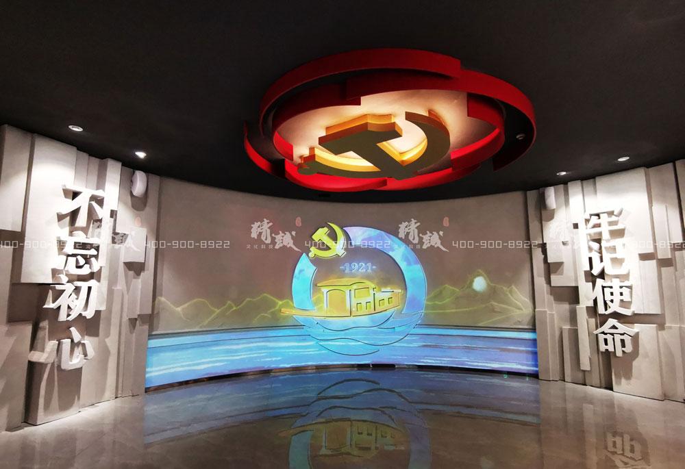 党建馆设计丨眉县党性教育中心案例展示