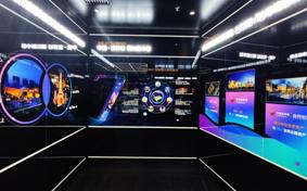 中骏世界城品牌馆丨西安展览公司设计施工