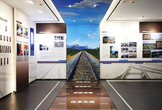 企业展厅丨中铁上海局七公司企业展厅