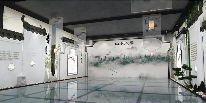 江南文化展厅设计效果展示