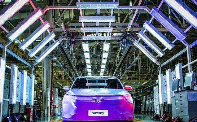 中国车企产量首破2200万辆