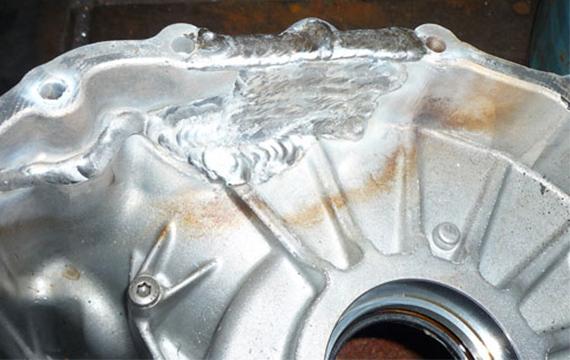 汽车铝件修补