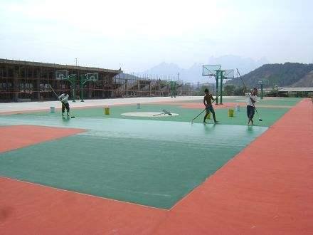 丙烯酸运动球场地坪漆系列