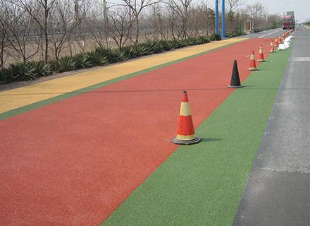 成都彩色防滑地坪