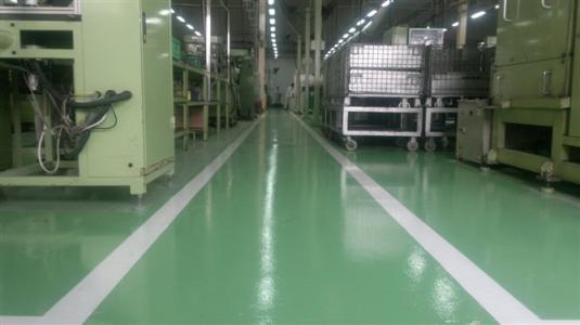 使用成都环氧耐磨防腐地坪漆的养护注意事项