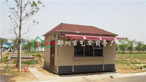 台湾科技园金属雕花板售货亭