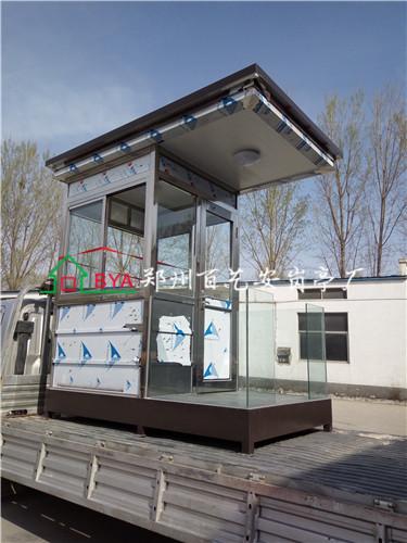郑州不锈钢岗亭