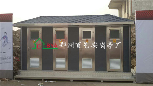 濮阳四连体金属雕花板厕所