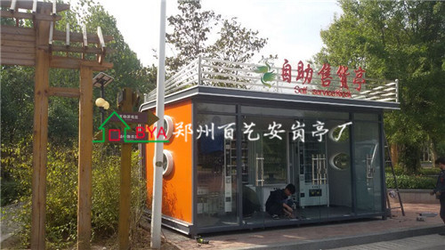 郑州氟碳喷漆岗亭
