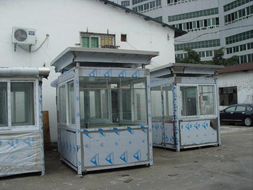 郑州不锈钢岗亭告诉你岗亭安装完毕能不能使用?