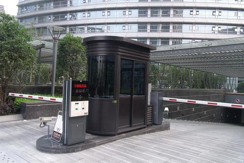 郑州岗亭厂家告诉你如何处理好岗亭与环境的关系
