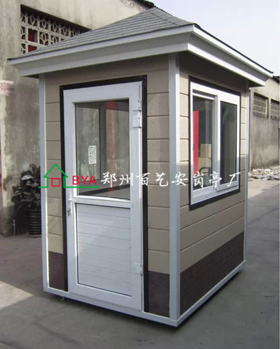 郑州不锈钢岗亭厂家教你如果鉴别治安岗亭质量的好坏