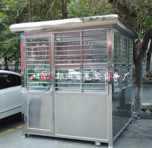 郑州不锈钢岗亭原材料加工难的原因有哪些呢