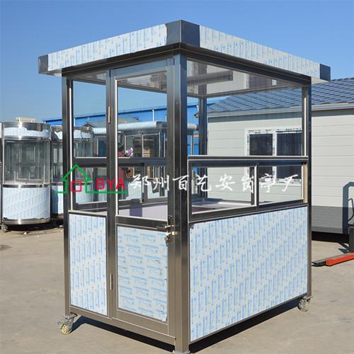 生产不锈钢岗亭的设备出现了问题要怎么去处理