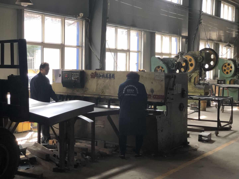 河南梯式电缆桥架厂房展示
