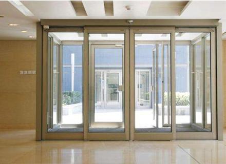 铝合金门厂家——有框玻璃感应门