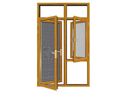 断桥铝门窗——130全隐系统窗纱一体