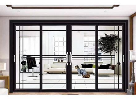铝合金门窗——120全隐平开窗纱一体