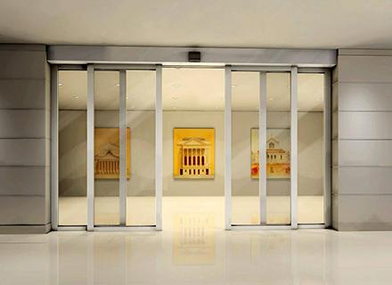 玻璃感应门厂家-有框玻璃感应门
