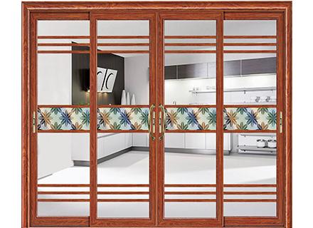 铝合金门窗-126轻型三轨推拉门