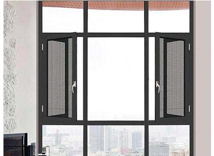 断桥铝门窗——100平开窗纱一体