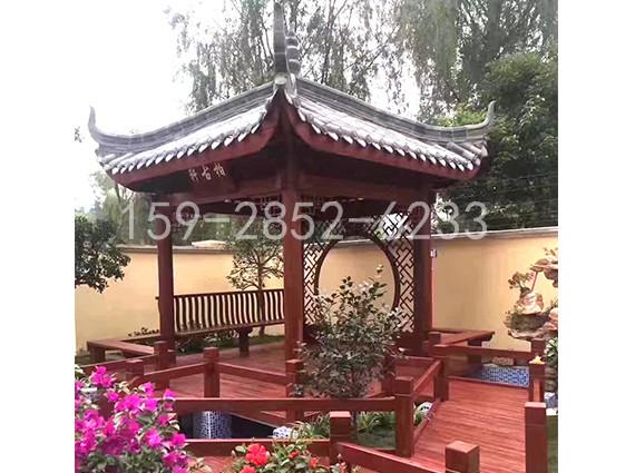 四川防腐木凉亭制作