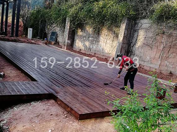 四川防腐木地板制作