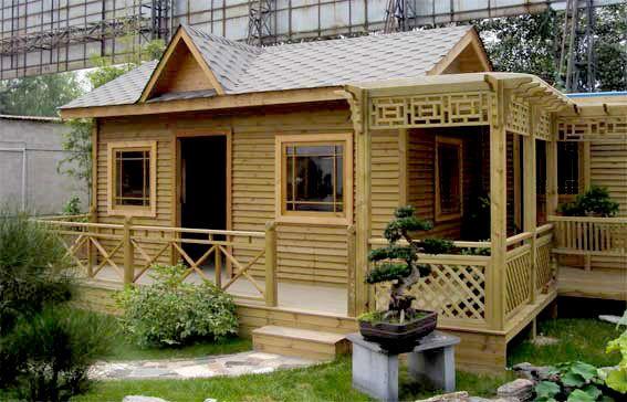 四川防腐木屋
