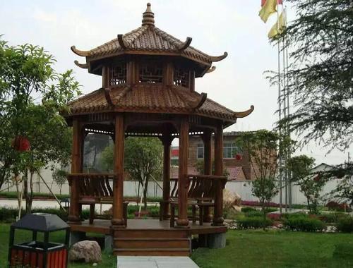 四川防腐木凉亭的主要特点是什么?