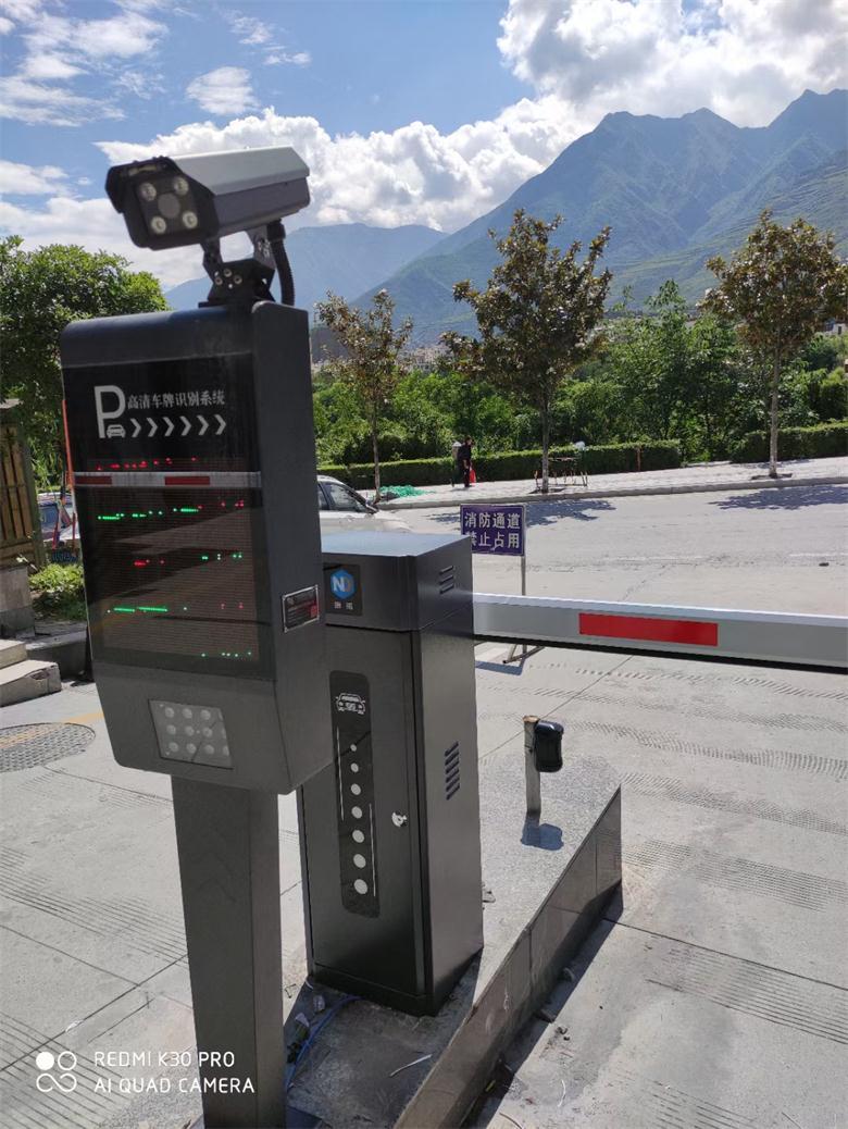 阿壩藏族羌族自治州小區車牌識別系統案例