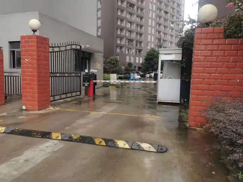 广汉向阳公租房车牌识别系统案例
