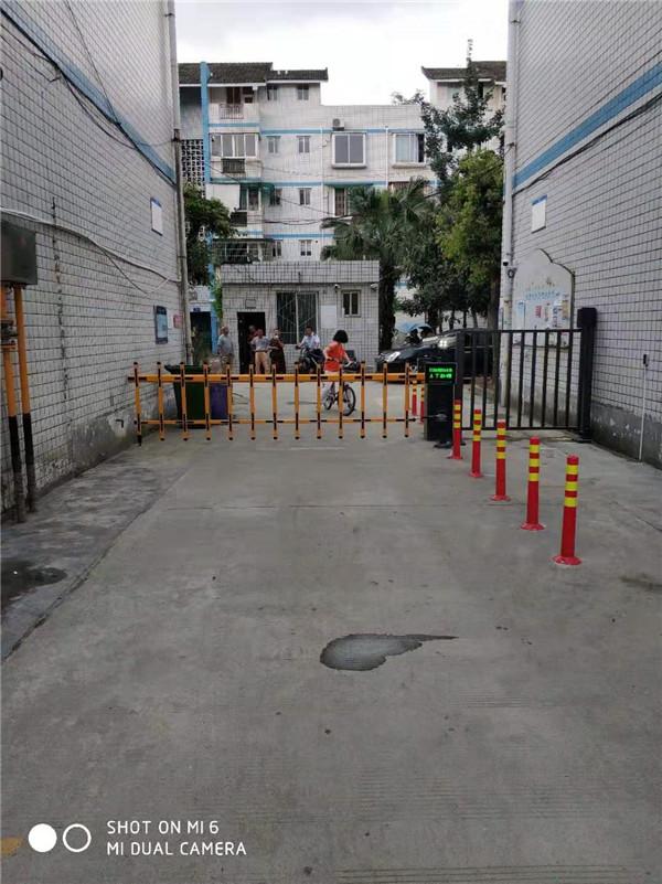 温江天府街道  小区车牌识别