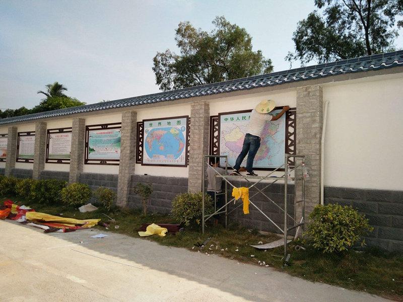 砖混文化围墙定制