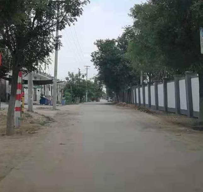 陕西装配式围墙案例-蒲城桥陵新农村