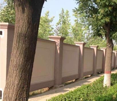 陕西预制围墙安装时一般用什么材料?