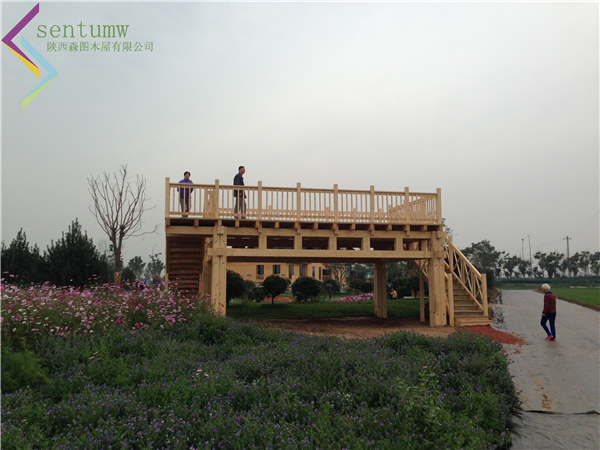 陕西木屋-观景台
