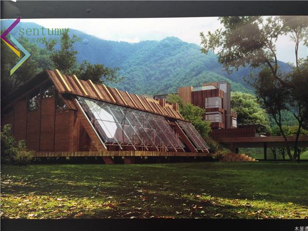 陕西木屋别墅--大型会所