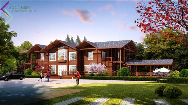 陕西木屋别墅设计