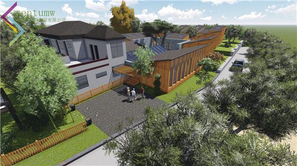 陕西木屋别墅搭配沥青瓦的作用是什么?