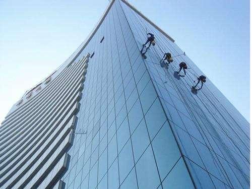 高层外墙清洁 高层玻璃幕清洁 内蒙古外墙清洗