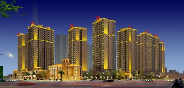 城市夜景照明 楼体亮化工程 呼市广告亮化