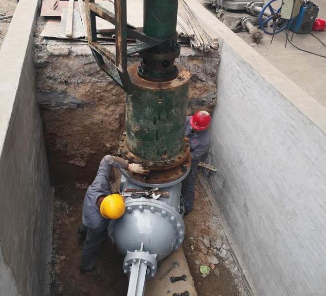 管道带压开孔施工案例