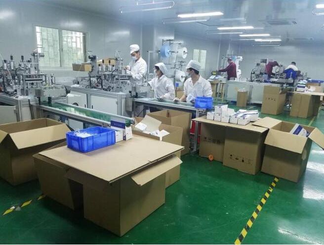 防护口罩制作工厂