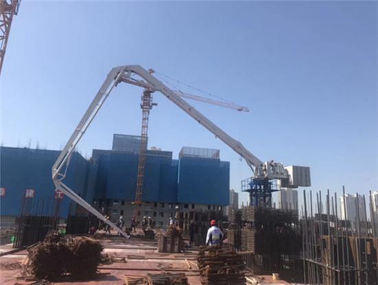 混凝土布料机安全操作流程