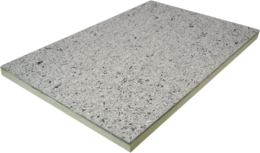 水泥纤维板水性多彩漆饰面保温装饰一体板