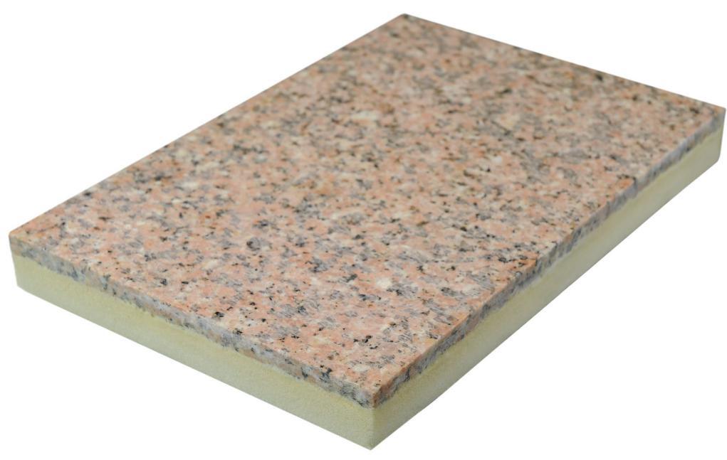 石材饰面层保温装饰一体板