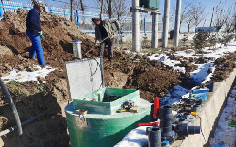 崇信县黄寨镇一体化污水提升泵站