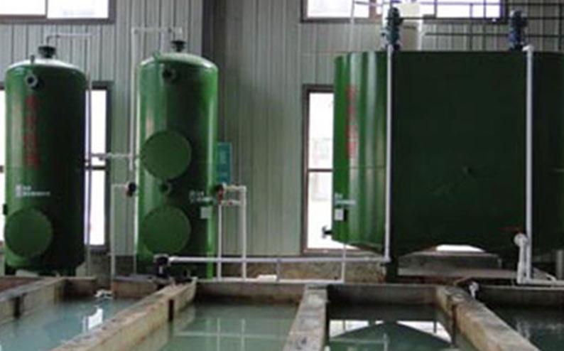 海石湾隆达镁业废水处理站